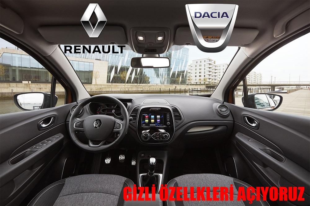 Yalova Renault Gizli Özellik Açma