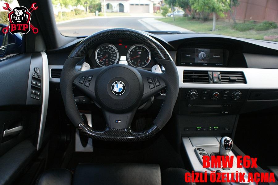 BMW E6x Gizli Özellik Açma