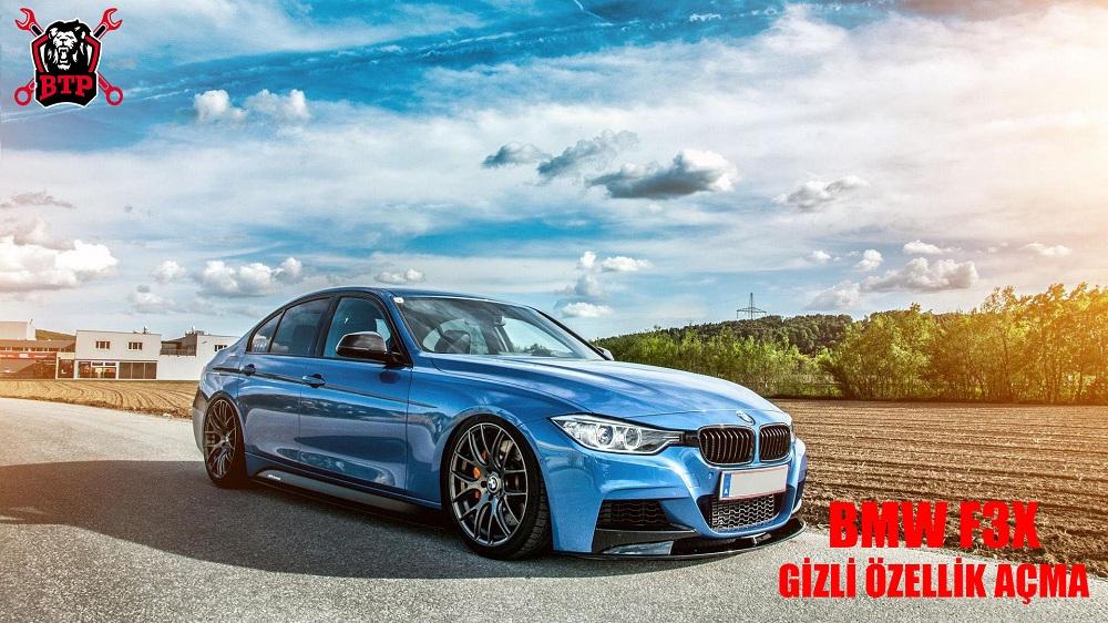 BMW F3x Gizli Özellik Açma