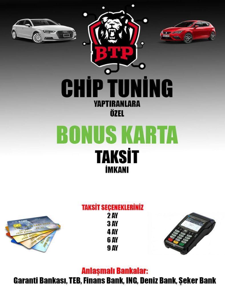 BTPERFORMANCE Chip Tuning Taksit İmkanı