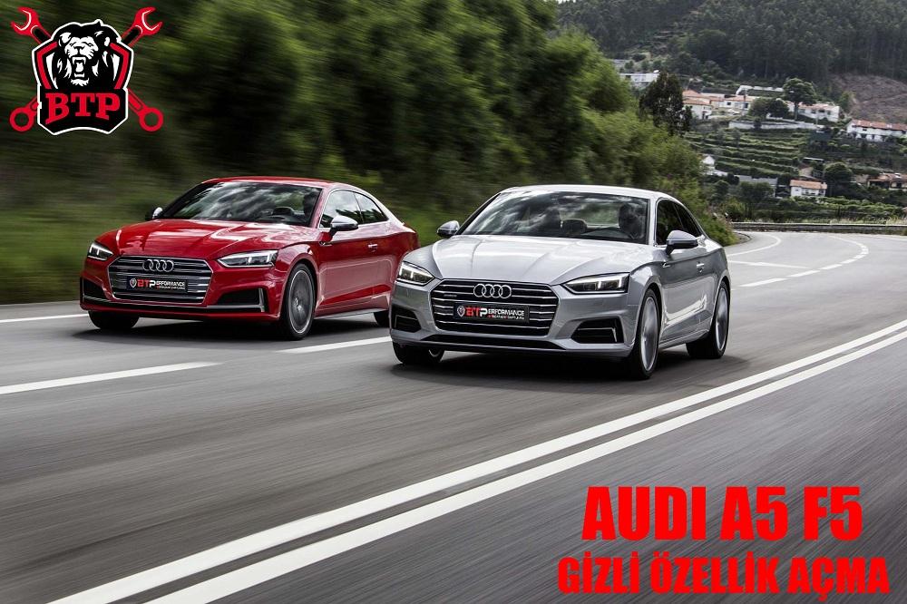 Audi A5 F5 Gizli Özellkleri