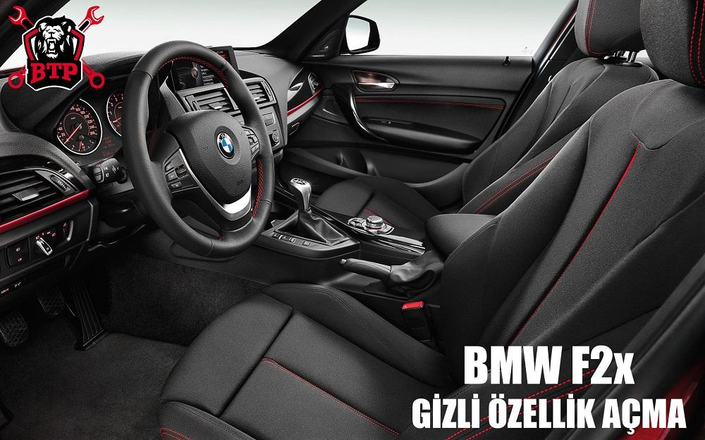 BMW F2x Gizli Özellik Açma