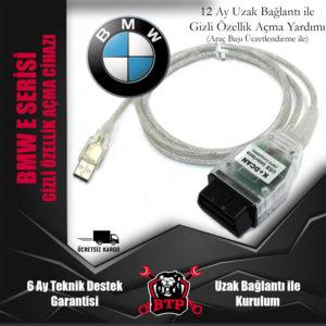 BMW E Serisi Gizli Özellik Açma Cihazı - Inpa K+Can Kablosu