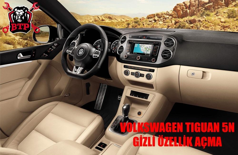 Yalova Volkswagen Tiguan 5N Gizli Özellik Açma