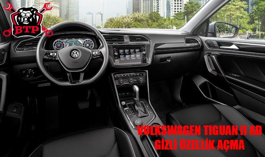 Volkswagen Tiguan II AD Gizli Özellik Açma